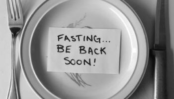 fasting... be back soon