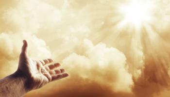 hand toward heaven